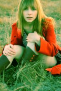 Kat Edmonson orange color