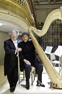 James Levine and Ann Hobson Pilot at Symphony Hall, Boston (Michael J. L